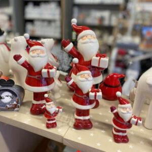 Santa with gift